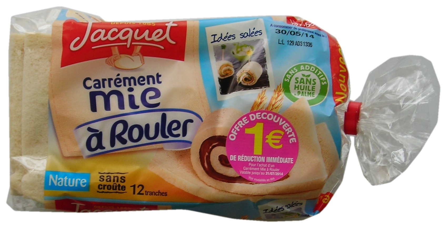 Jacquet white bread to roll