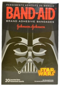 dark band aids