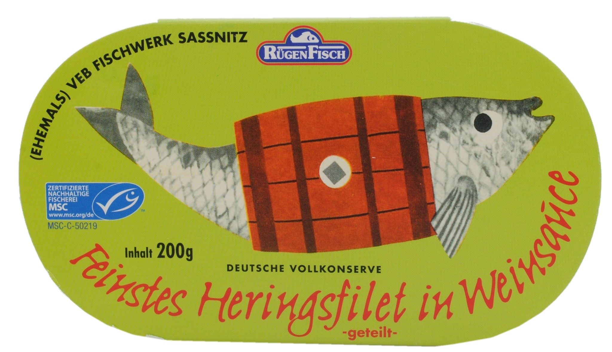 Fine Herring Fillet in Wine Sauce