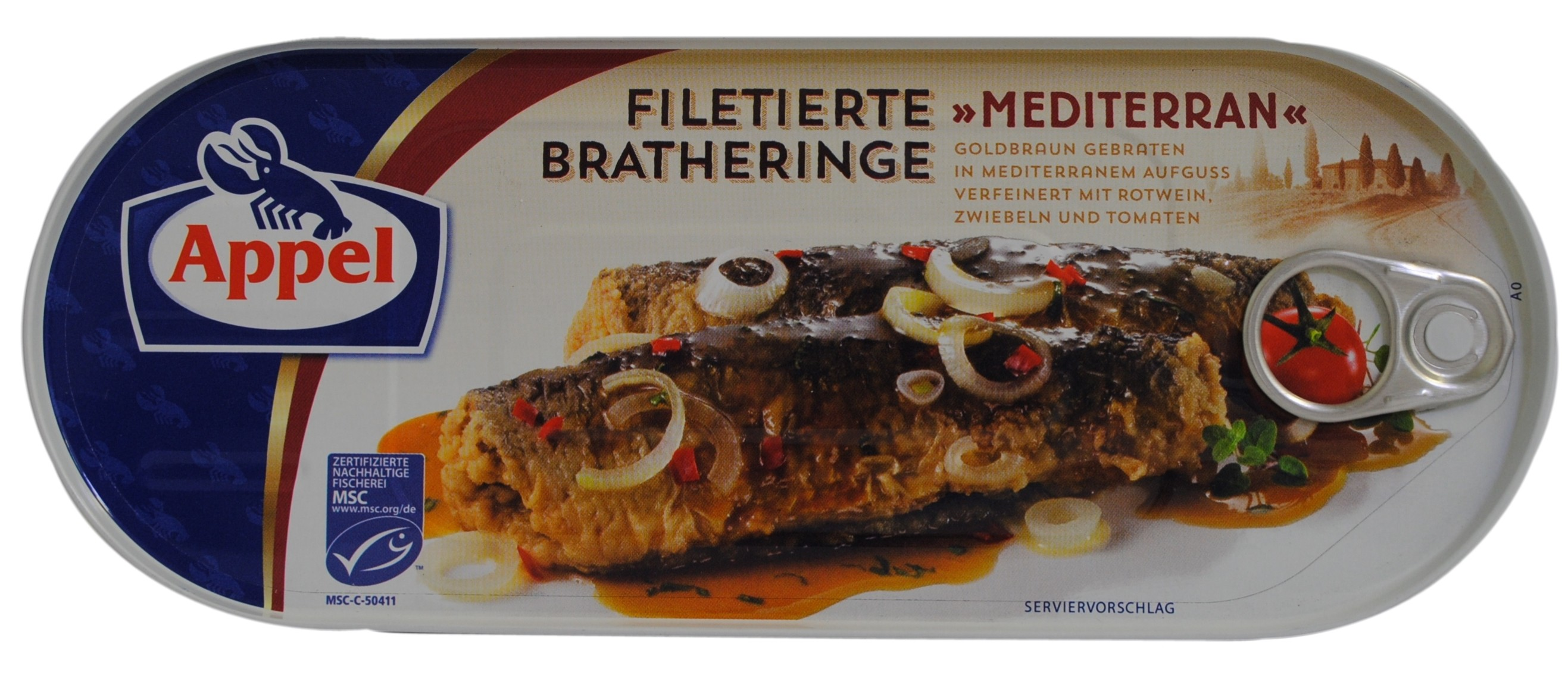 Mediterranean-Style Fried Herring Fillets