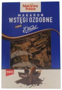 Tagliatelle Pasta with Cocoa, E. Wedel Makarony Polskie, Poland