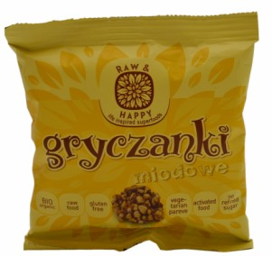 Raw & Happy Gryczanki Buckwheat Snacks