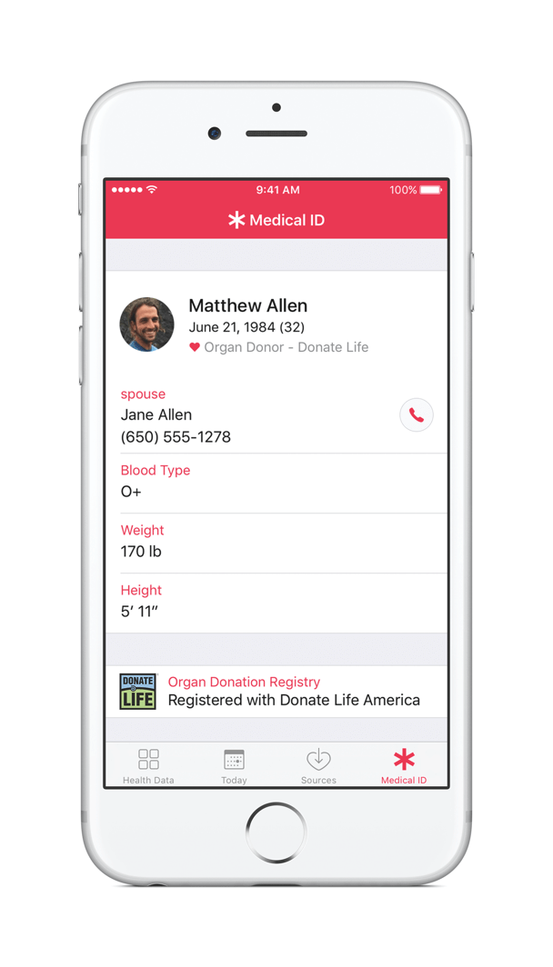 Donate-Life-registration-on-apple-ios