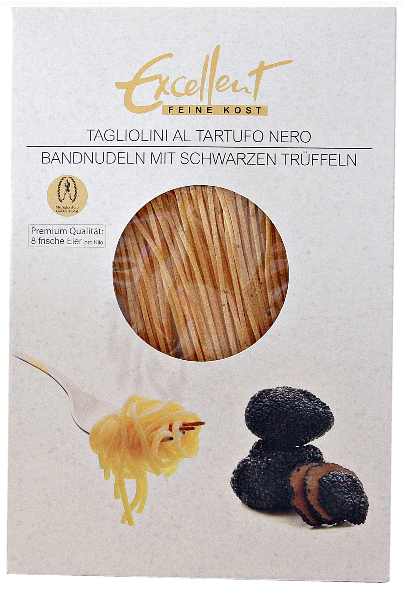 Tagliatelle Pasta with Black Truffle