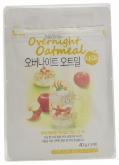 Dubo Food Apple Flavoured Overnight Oatmeal
