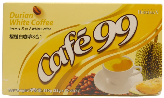 Horseman Café 99 Durian White Coffee 3 in 1 Premix