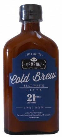 Gambino Cold Brew Flat White Latté