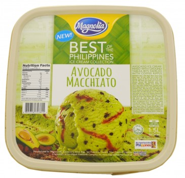 Magnolia Best of the Philippines Collection Avocado Macchiato Ice Cream, Philippines