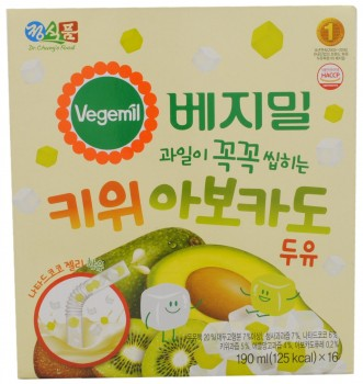 Dr. Chung's Food Vegemil Kiwi Avocado Soy Milk, South Korea