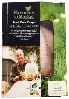 Farmers to Market Irish Free Range Whole Chicken, Ireland