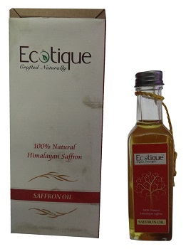 Ecotique Crafted Naturally, Saffron Oil