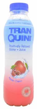 TranQuini, Positively Relaxed Water with Apple Cherry Juice, Spain