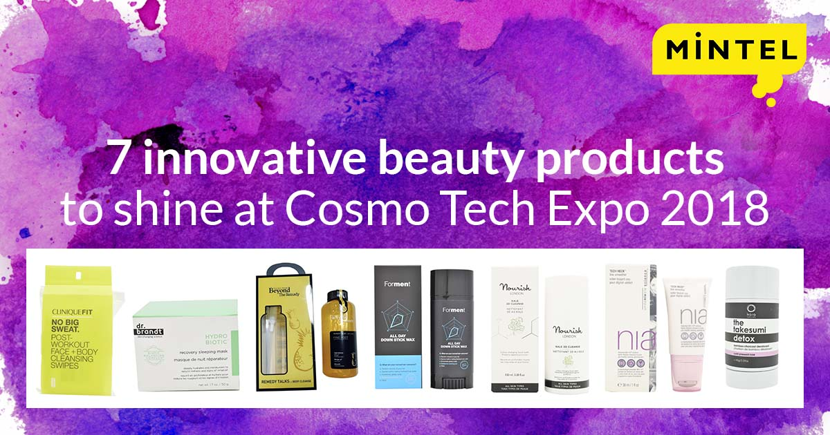 7 innovative beauty products to shine at Cosmo Tech | Mintel com