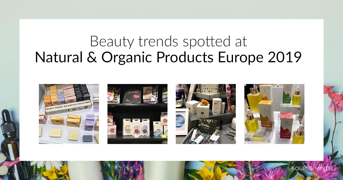 Trends spotted at Natural & Organic Products Europe | Mintel com