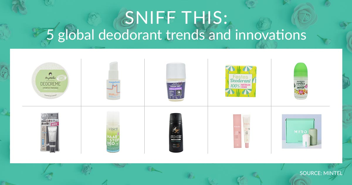 Sniff This 5 Global Deodorant Trends And Innovations