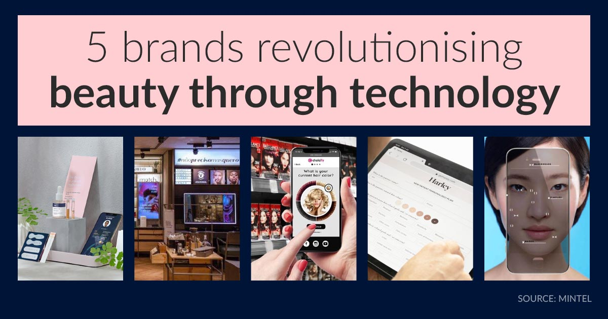 5 brands revolutionising beauty through technology